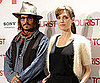 Slide Picture of Angelina Jolie and Johnny Depp in Spain