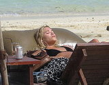 Ashley Olsen Wears Her Bikini in St. Barts!