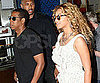 Slide Picture of Jay-Z and Beyonce Leaving Lunch in Australia