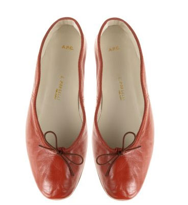 Porselli Ballerina Flats ($123, originally $175)