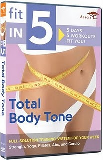 Acacia Fitness DVD Review: Fit in 5 Total Body Tone