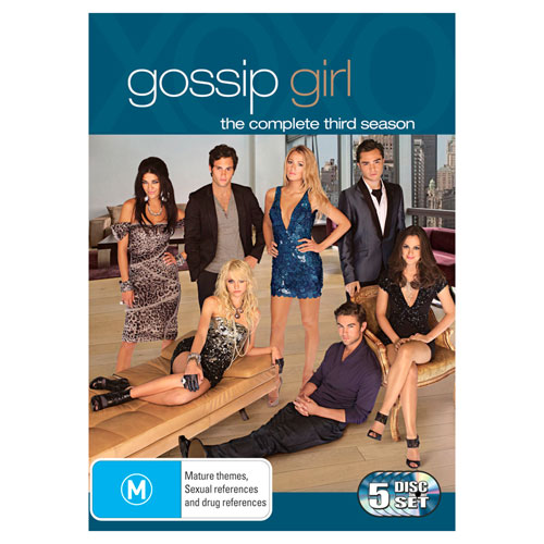 Gossip Girl: The Complete Third Season on DVD ($27.73)