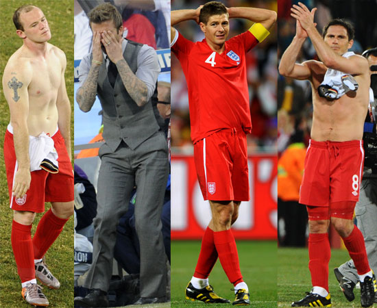 Biggest Headlines of 2010: England's World Cup Woes!