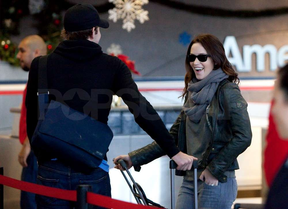 Emily Blunt and John Krasinski Set Their Sights on Boston For a White Christmas
