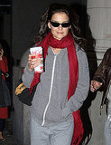 Katie Holmes Celebrates Her 32nd Birthday With Dinner, Drinks, and Cardio