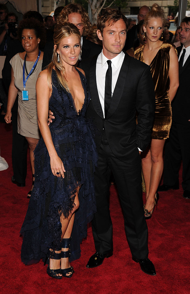 She had a moment in Pucci, with then-love Jude Law, at the Metropolitan Museum of Art Gala in May 2010.
