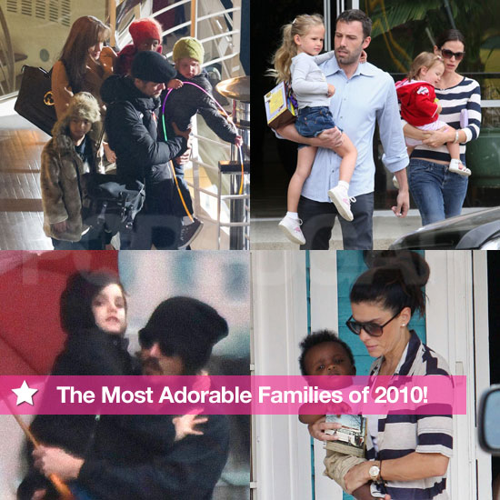 Best of 2010: The Most Adorable Families of the Year!