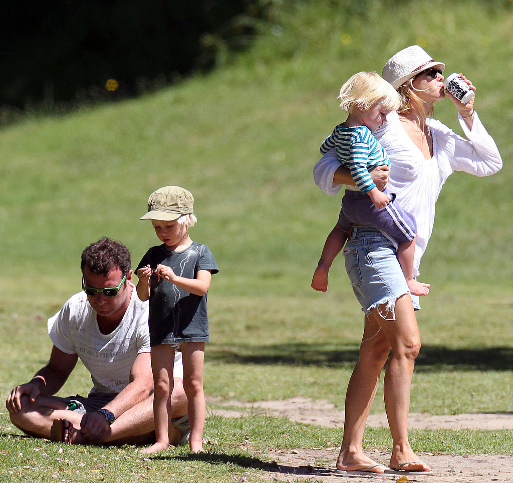 Naomi, Liev, and Their Boys Spend the Holiday Season in Sydney