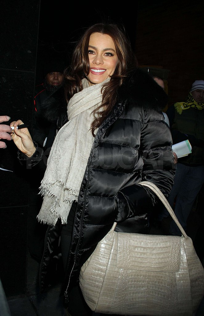 Sofia Vergara's Golden Smile Brightens Up the Morning