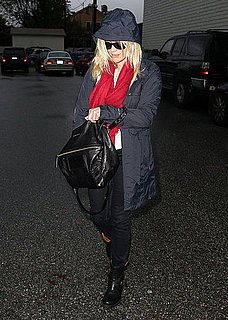Pictures of Reese Witherspoon at the Spa in the Rain