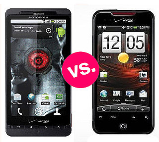 Motorola Droid X vs. HTC Droid Incredible