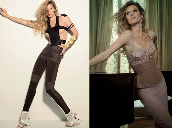 Gisele showed off her sultry and sporty sides — and celebrated 10 years of modeling — in Vogue Brasil.