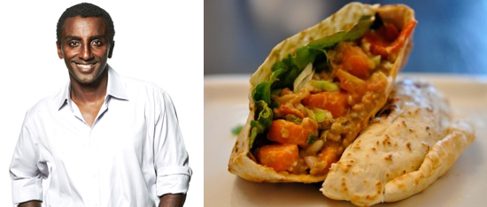 Marcus Samuelsson's Vegetable Pita