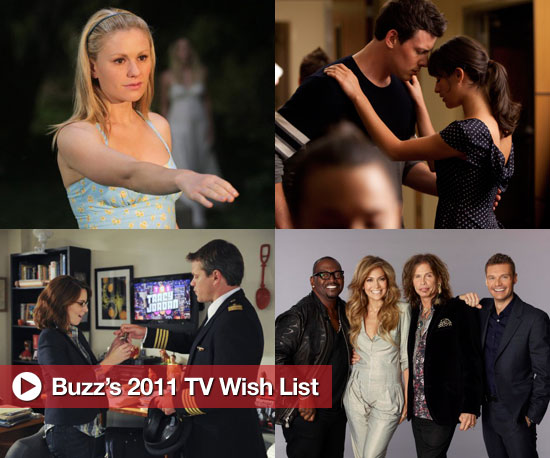 2011 TV Wish List