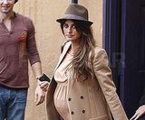Penelope Cruz Brings Her Huge Baby Bump Shopping at Ed Hardy!