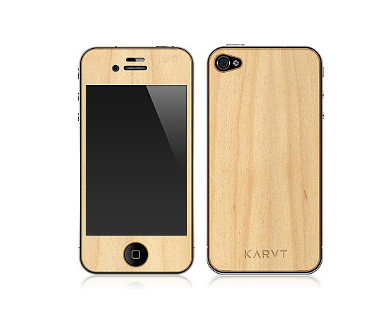 Karvt Wooden iPhone Skin ($25)