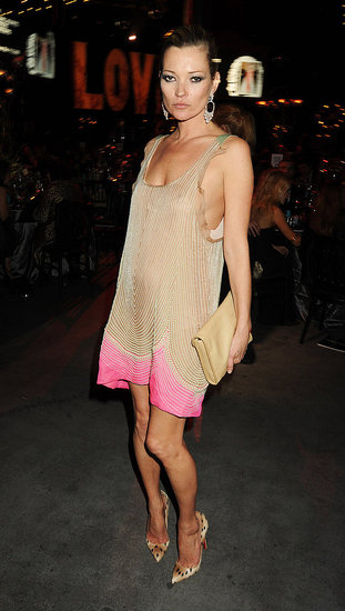 Kate Moss in Valentino Couture at the Love Ball.