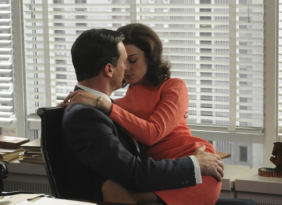 Don and Megan, Mad Men