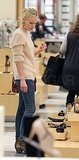 Kate Bosworth Treats Herself to a Day of Shoe Shopping