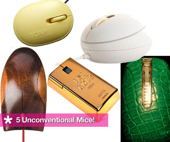 5 Unconventional Computer Mice