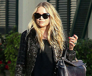 Slide Picture of Mary-Kate Olsen Visiting a Nail Salon in LA