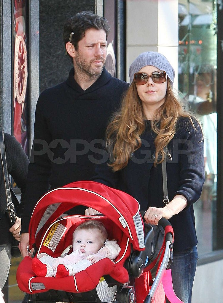 Amy Adams Celebrates Aviana's First Christmas in California