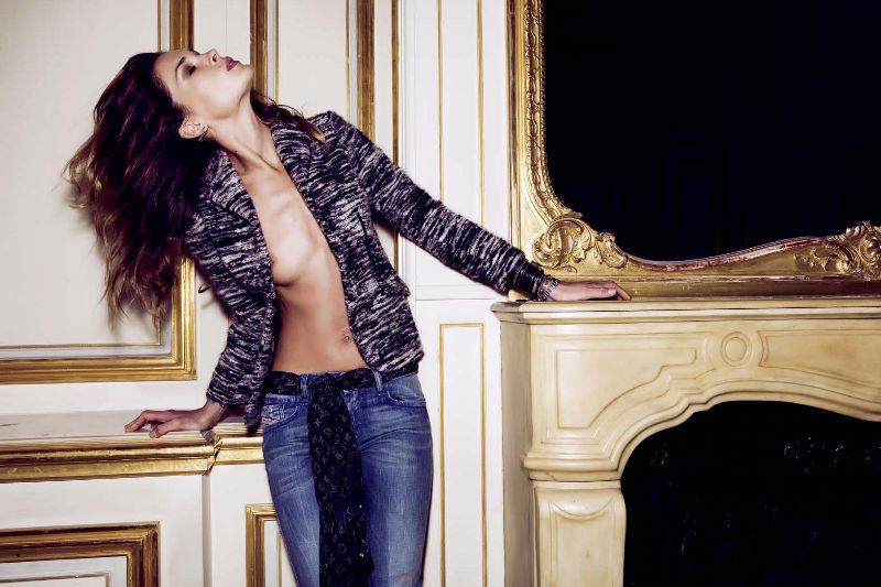 Erin Wasson Rocks Out in Paris For Elle Spain