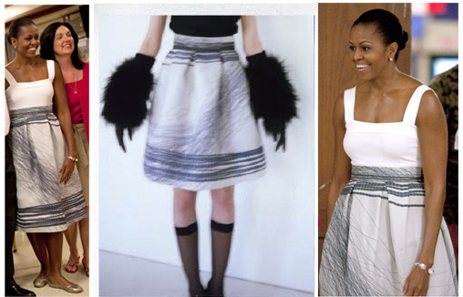 Michelle Obama's Latest Fashion Designer Love