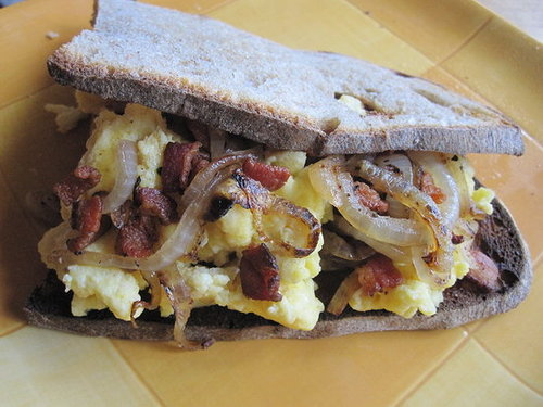 Bacon and Egg Sandwich Recipe