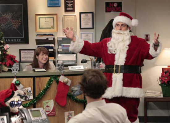"Best Holiday Surprise: The Office's ""Classy Christmas"""