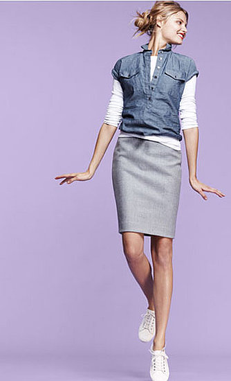 A pencil skirt ($118) that goes beyond work wear.