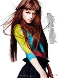 Coco Works the Camera For Three Separate Elle Italia Spreads