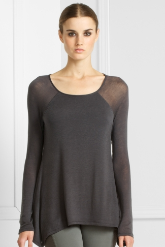 Sculpted Jersey Draped Top ($59, originally $98)