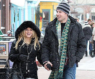 Slide Pictures of Jessica Simpson and Eric Johnson in Aspen