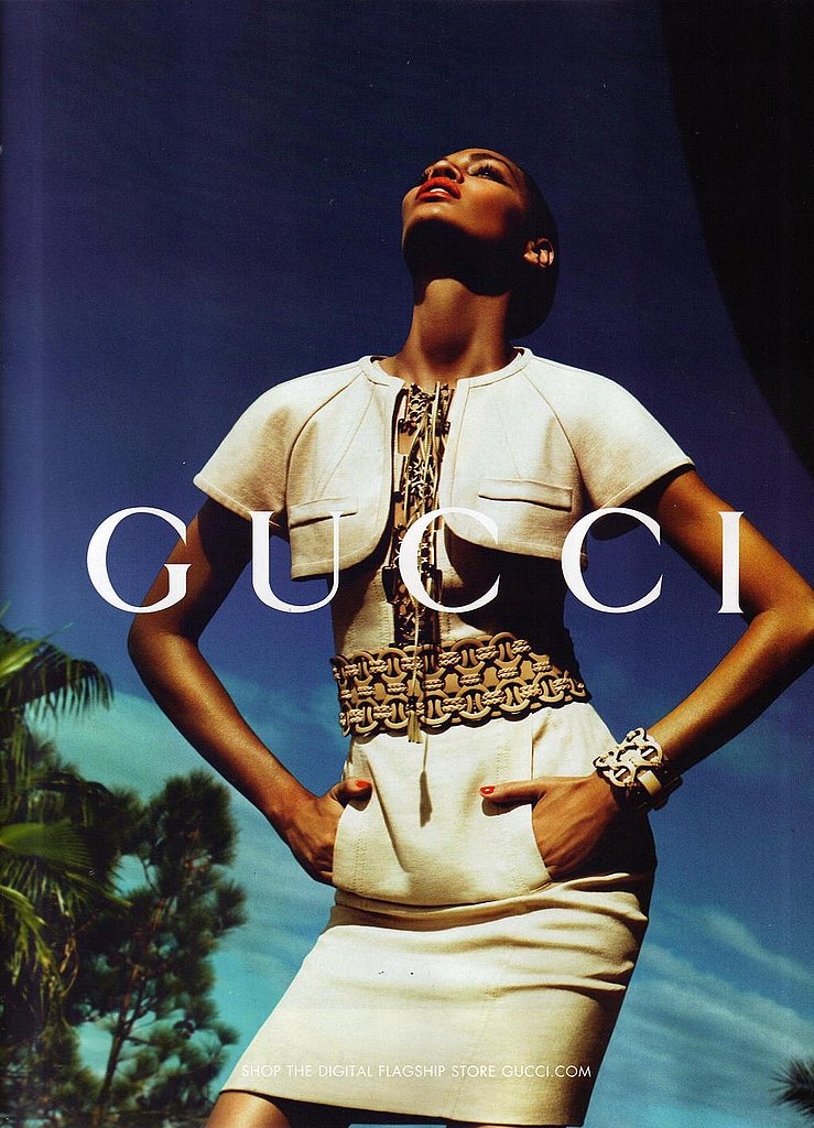 Joan Smalls for Gucci, by Mert Alas and Marcus Piggott