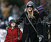 Slide Picture of Sarah Jessica Parker and James Wilkie in NYC