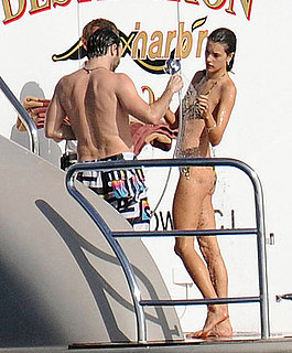 Pictures of Alessandra Ambrossio in a Bikini on the Beach in St. Barts
