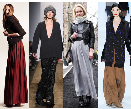 Style How-To: Max Out Your Maxi Skirt