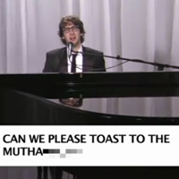 Josh Groban Sings Kanye West's Tweets 2011-01-04 10:42:02