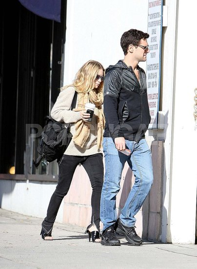 Ashley Olsen and Justin Bartha Spend Their Sunny Days Shopping