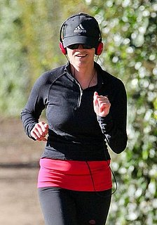 Pictures of Reese Witherspoon Jogging in LA