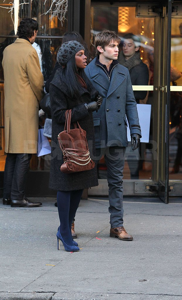 Chace Crawford Gets to Work With His New Gossip Costar Tika Sumpter
