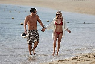 Pictures of LeAnn Rimes in a Red Bikini While on Vacation With Eddie Cibrian