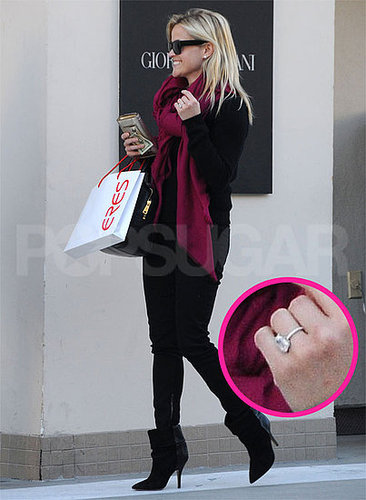 Pictures of Reese Witherspoon's Engagement Ring