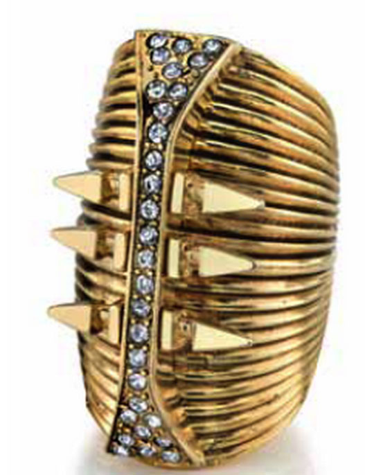 Glam Rock Long Finger Ring ($75)
