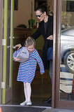 Jennifer Garner Puts Away Her Bikini and Heads Home With Violet