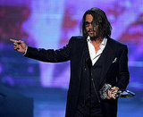 Johnny Depp at the People's Choice Awards