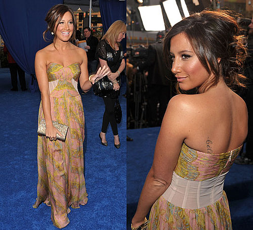 Ashley Tisdale at 2010 People's Choice Awards
