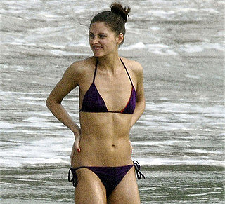 Photo of Olivia Palermo in a Purple Bikini On Holiday In St Barthelemy