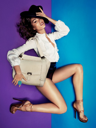 The Latest Spring 2011 Ads — Crystal Renn in Colorful Jimmy Choo, Plus Ralph Lauren, D&G, and More Chanel